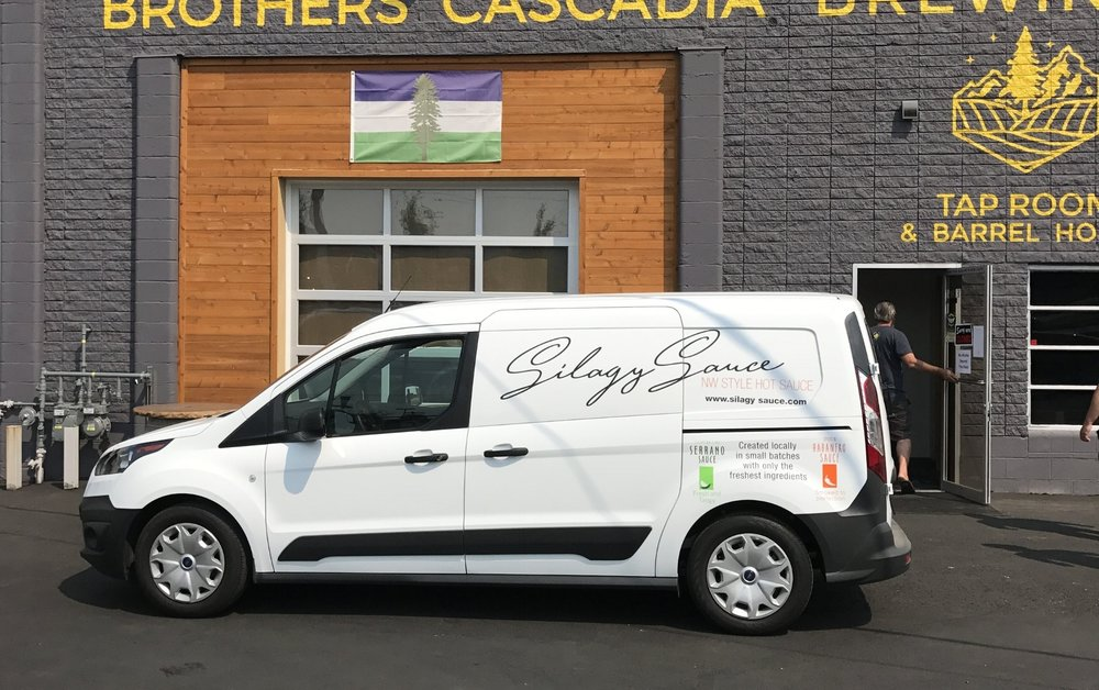 Look for our delivery van near you
