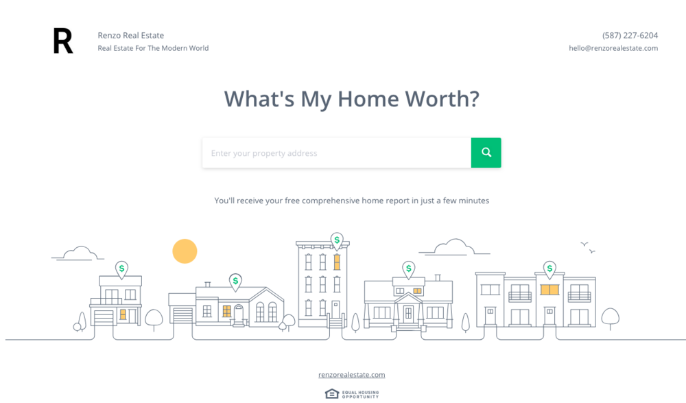 One-Click Renfrew Home Values - Instantly Find Out Your Home Value