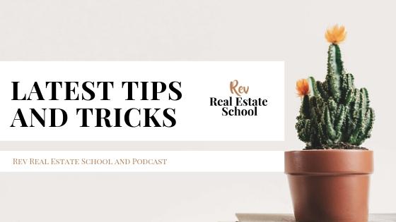 Rev Real Estate School Training