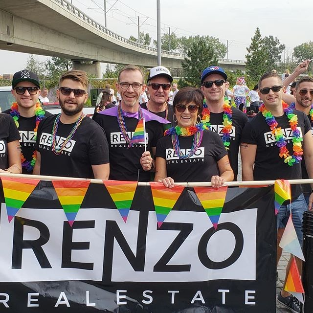 #pride🌈 #2018 Now that was fun! #renzorealestate #yycpride