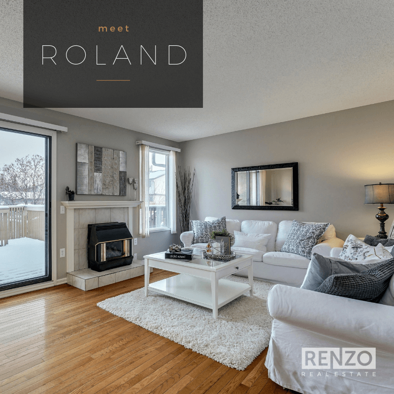 1516 Ranchlands Road NW, Calgary - SOLD   The Ranchlands Town Home. This charming two bedroom, 5-level split has recently been refreshed with a complete repainted of the interior and new flooring on the upper levels. The bright and airy living room is the perfect spot to relax next to the fireplace.