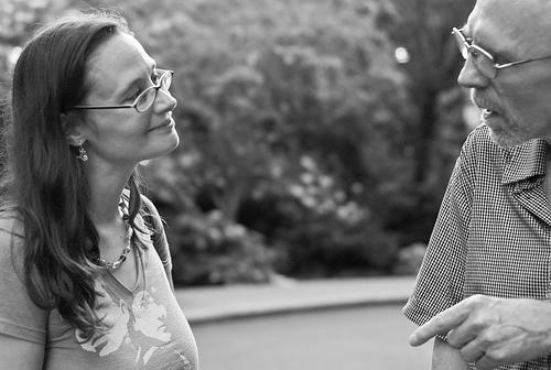 Susan Sermoneta: 'conversation . . L1067630' | License: CC BY-NC-ND 2.0