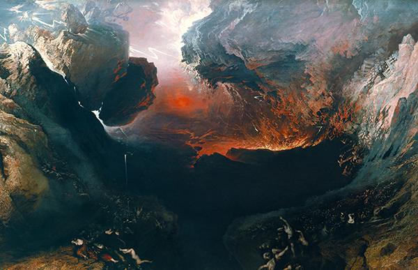 'The Great Day of His Wrath' by John Martin | License - Public Domain (Wikimedia)