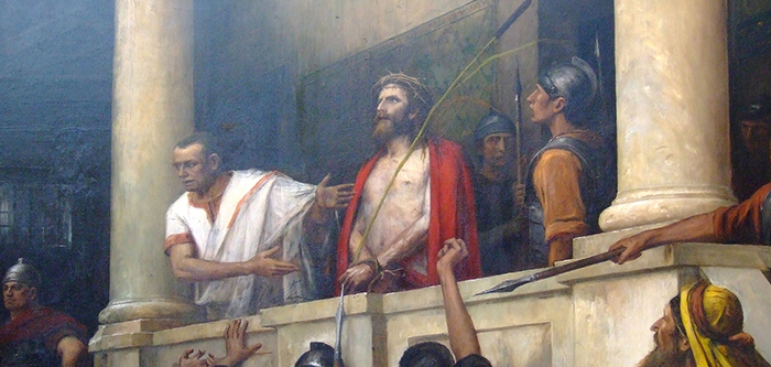 'Ecce Homo!' by Munkácsy Mihály | License - Public Domain