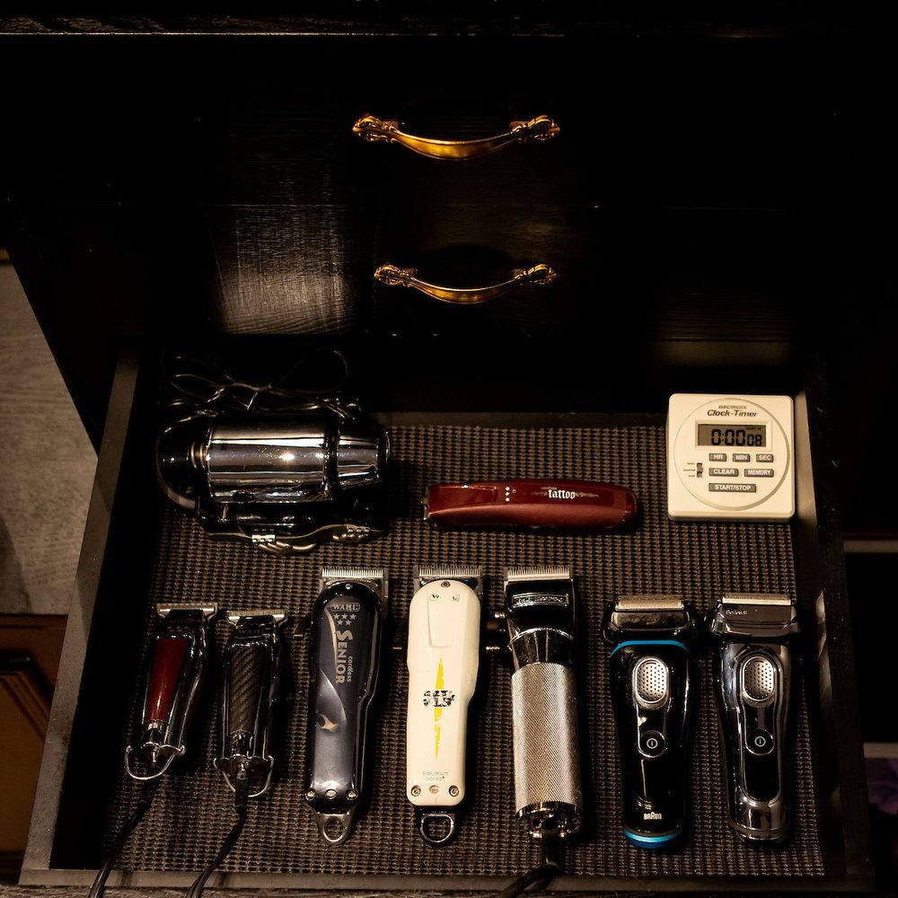 Iceberg Media capturing Borgioli's unique salon equipment.