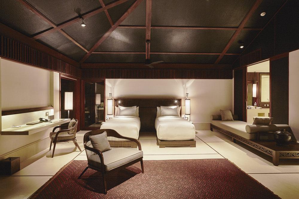 客卧套房 超大号床/2张单人床(64平方米)