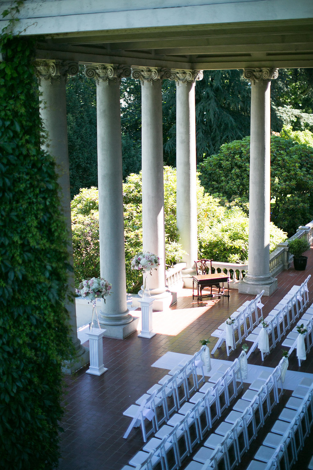 Hycroft-wedding-ceremony-setup-aerial-view