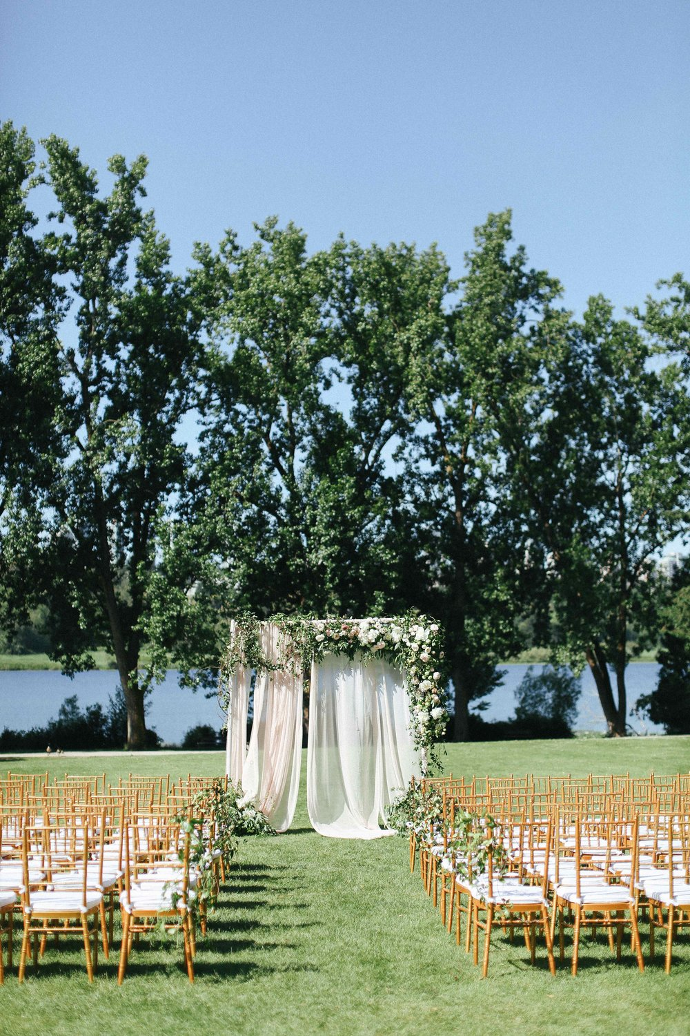 Hart-house-wedding-ceremony-setup-with-view