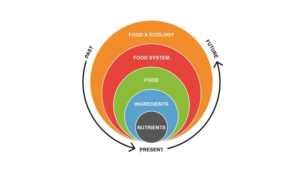 The Food Re-evolution Model