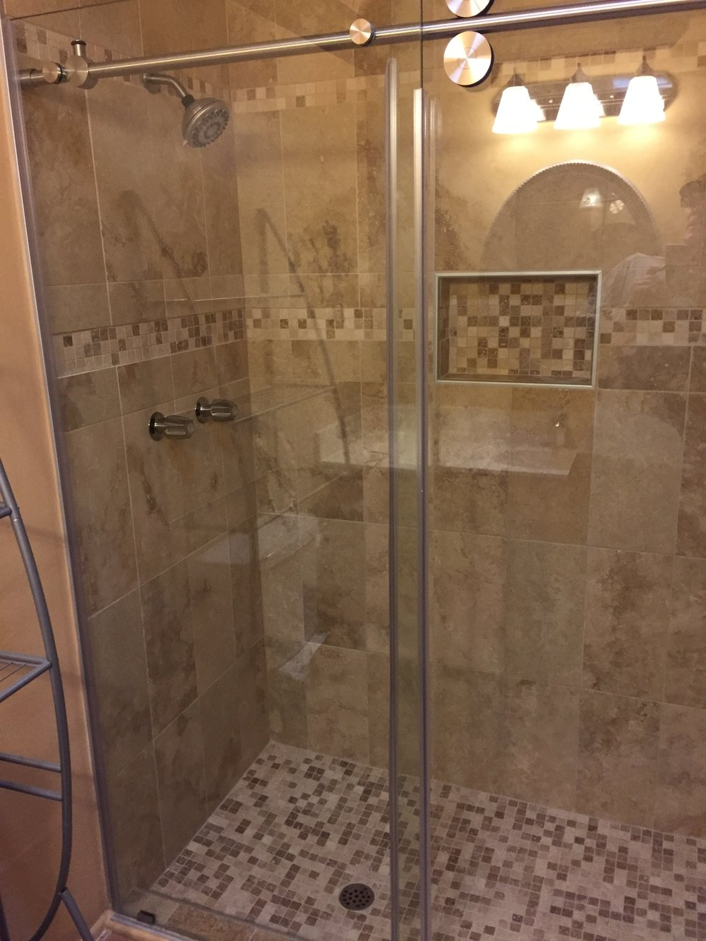 Bathroom Tile Shower Remodel B4.JPG