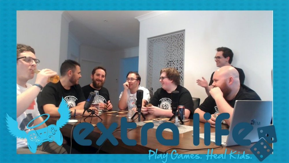 Watch out Extra Life videos  here  ; Donate and learn more  here