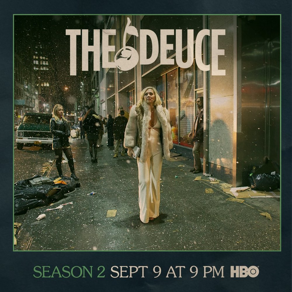 It's 1978. Punk, disco and porn. The City never sleeps.  THE DEUCE season two debuts Sept 9.
