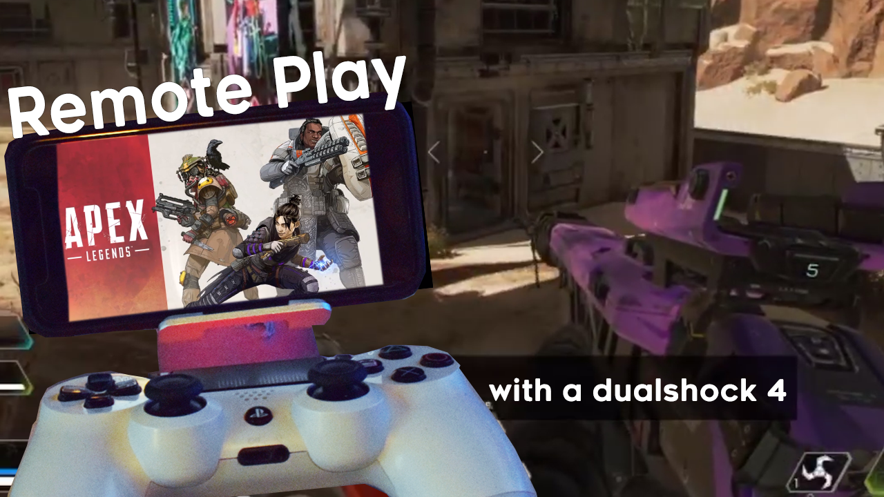 how to use a ps4 controller on pc apex legends