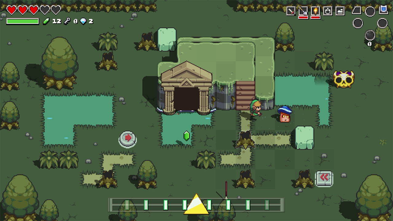Cadence Of Hyrule Looks And Sounds Like Zelda Explosion Network Independent Australian Reviews News Podcasts Opinions