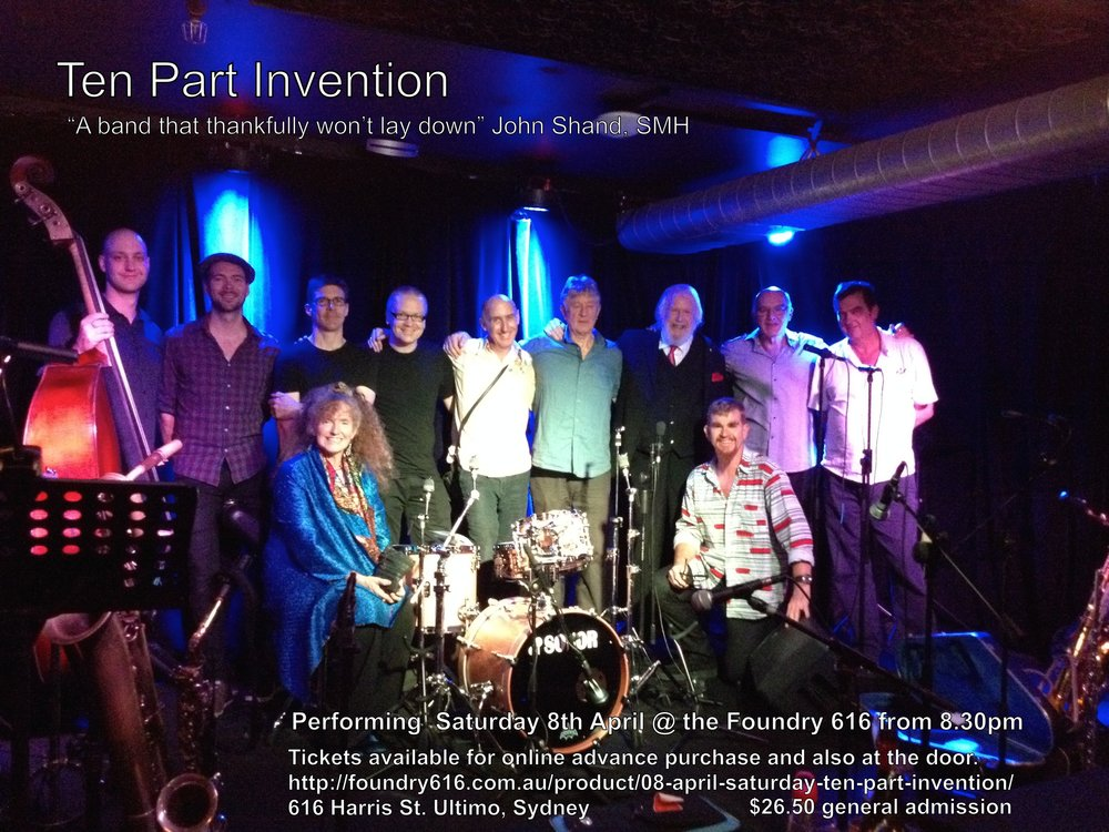 Ten Part Invention 8 April Foundry 216