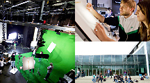 Hochschule Offenburg   Film design, animation/VFX, sound design, online and ...   ... MORE   →