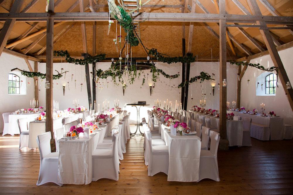 Festscheune zur Hochzeit