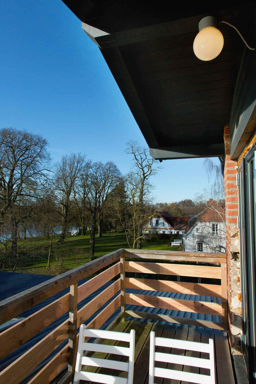 Balkon auf dem Dach der Alten Schmiede