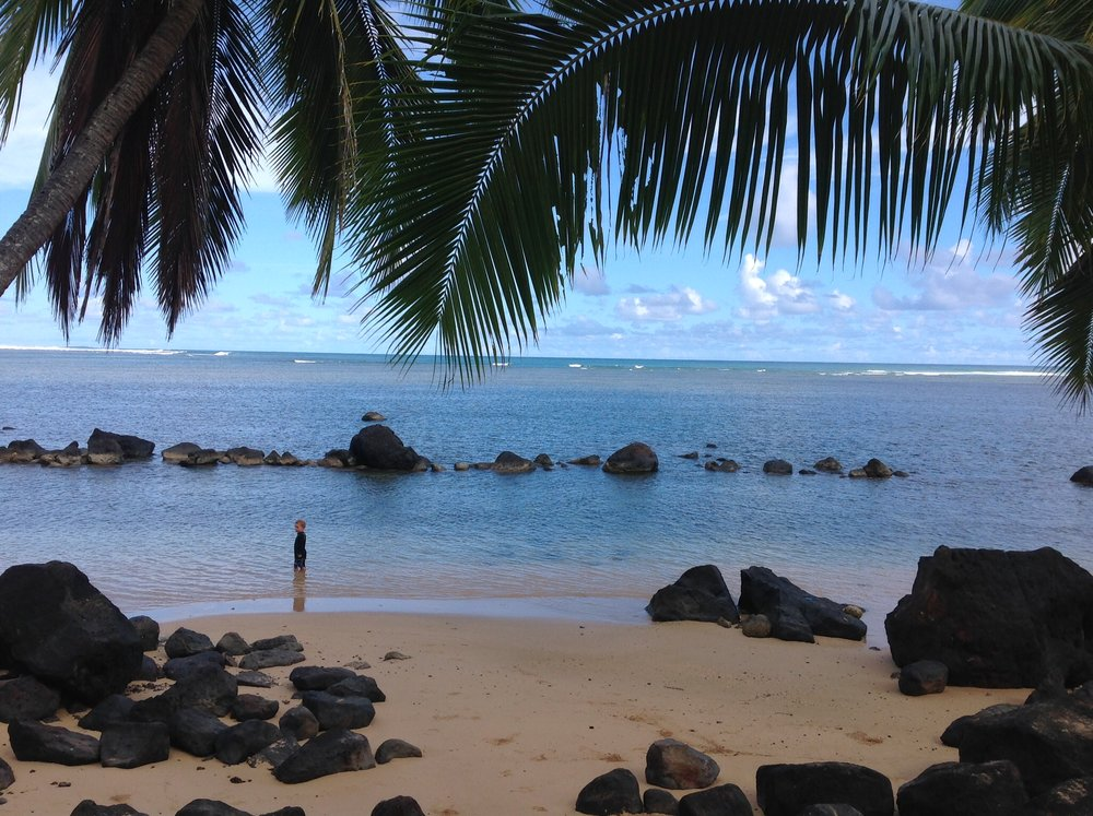 Solitude in paradise - Anini Beach