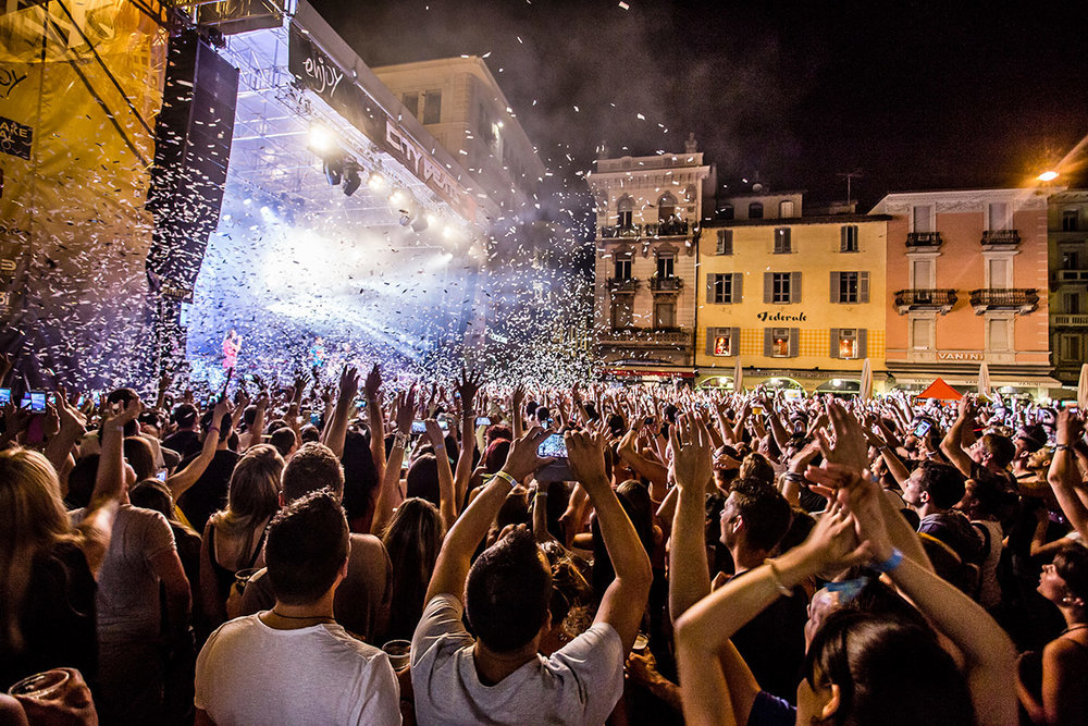 "CIty Beats Festival, the most important ""Trendy"" festival in the Italian area of Switzerland, conceived and organized by Enjoy."