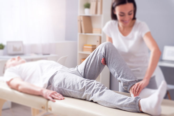 Physiotherapy - At The Poynton SpineCare Institute our team of Physiotherapists can treat a diverse range of spinal pathologies ranging from acute to chronic neck, and low back pain with or without radicular symptoms, occupational, sports, degenerative and arthritic spinal complaints. We will also guide you through your rehabilitation and recovery post spinal surgery and offer pre-op education, advice and prehab in the Institute. We are happy to announce the introduction of an Acute Spinal Triage Service for acute spinal pain. Patients can access this through their referring GP, Physiotherapist, Consultant or Pain Specialist Consultant.