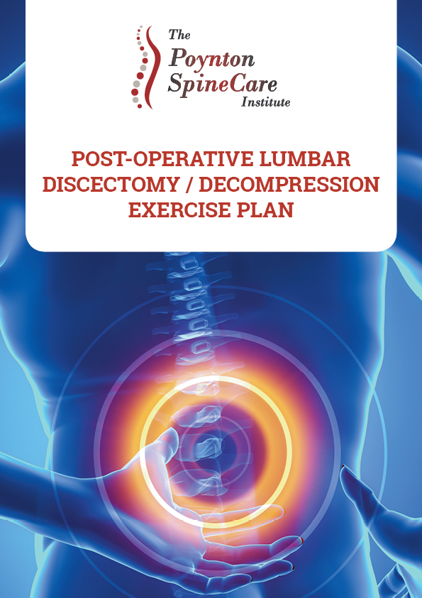 Post-Operative Lumbar Discectomy Decompression Exercise Plan
