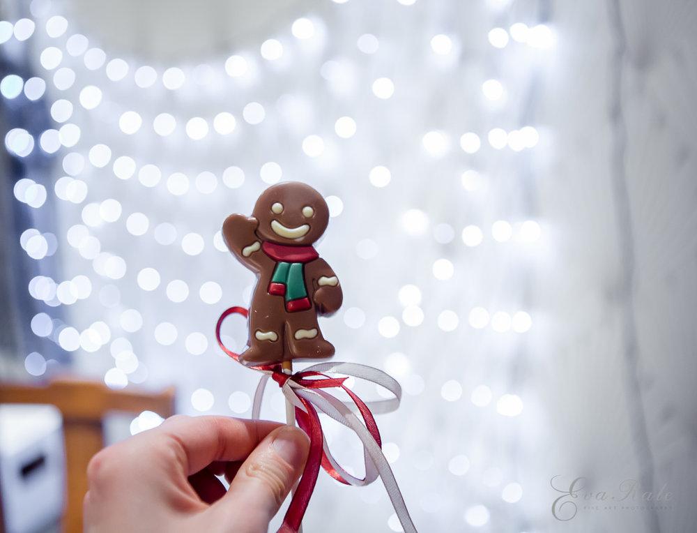 Chocolate gingerman