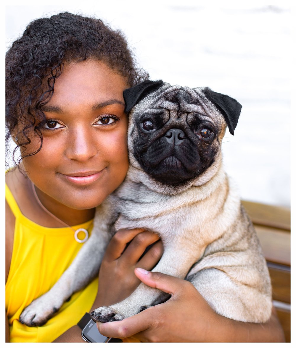 testimonial Photoshoot with a pet