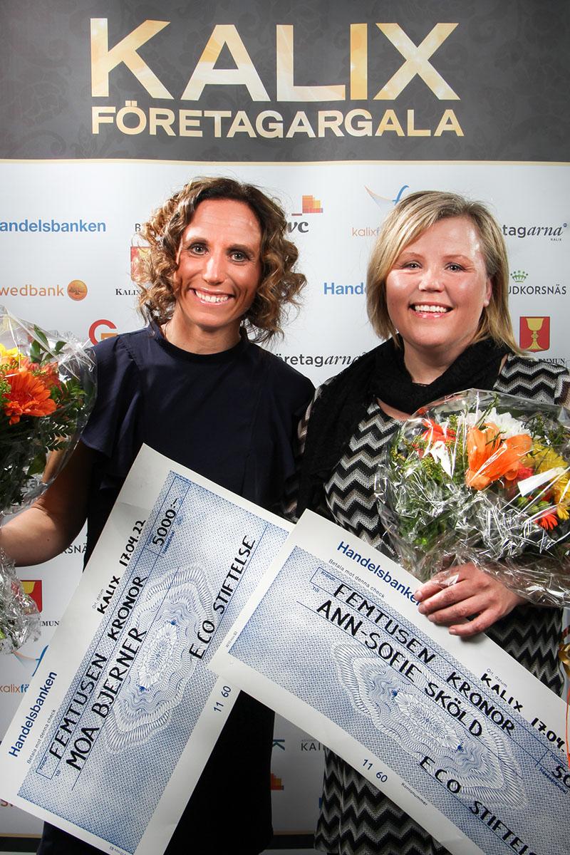 Moa Bjerner, Ann-Sofie Sköld - Olsens Stiftelse
