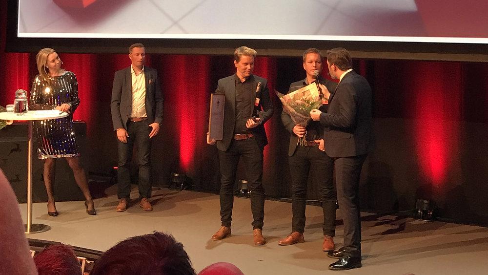 Norrcust Caravan vinner pris som Årets Gasell från Norrbotten. Foto: Lisa Westberg