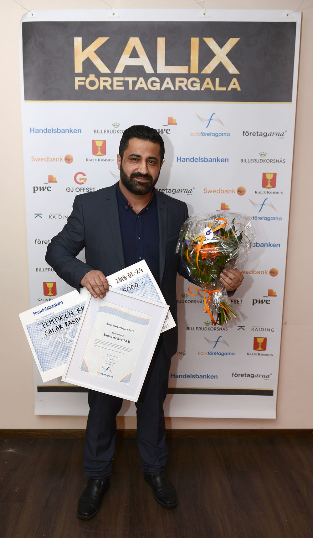 Årets Nyföretagare - Salar Rasoul, Salles Hönseri AB