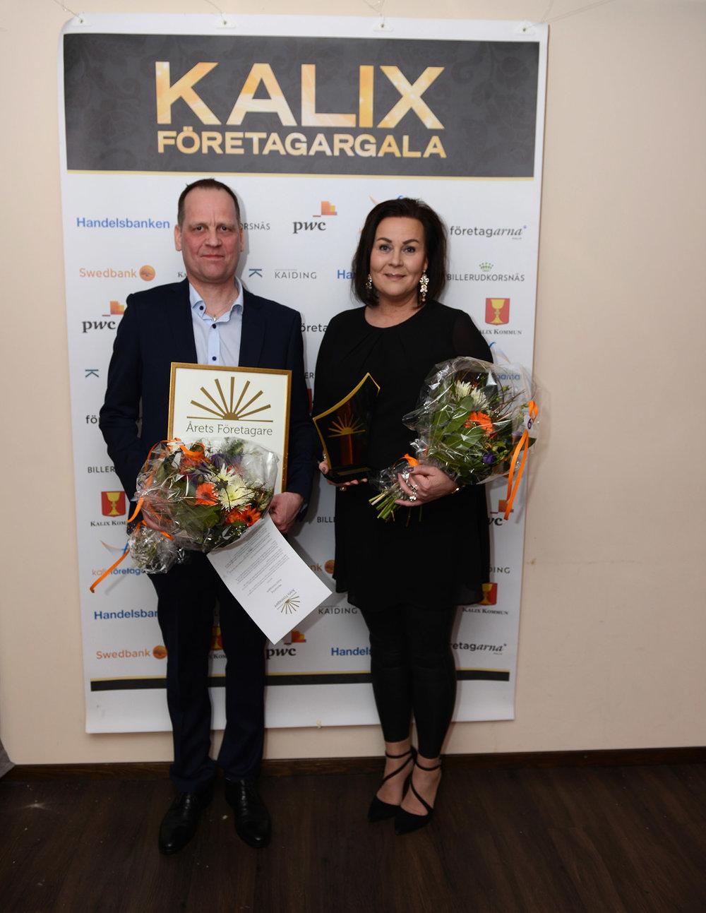 Årets Företagare - Roger Jacobsson och Christina Nilsson, Kalix Maskiner AB