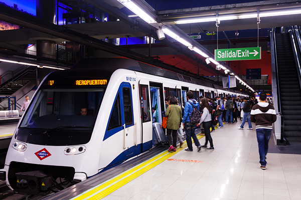 METRO     website  The metro is the quickest and most convenient way of travelling within Madrid. The metro offers 13 lines and operates from 6am-2am daily. Tickets can be purchased on automatic machines or ticket booths at any location.