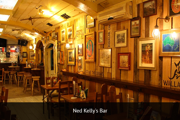 NED KELLY'S BAR |   +49 89 24219899   Ned Kelly's is one of Munich's top rated sports bars. You can watch football from across the globe and the bar has several TVs and projectors.   Address: Frauenplatz 11, 80331