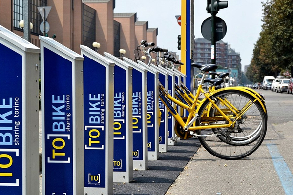 CYCLING  Turin has recently implemented a vast network of bike paths and trails throughout the city. You can either rent a bike from different rental services around the city, or you can use the bikeshare program called ToBike.