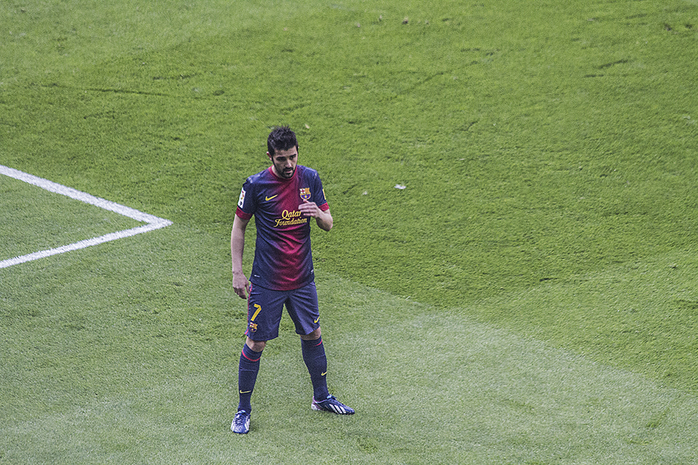 David Villa, one of our all-time favorite players.