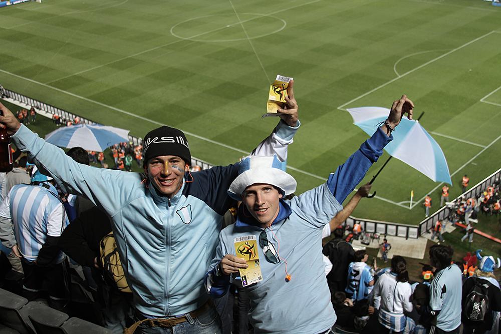 Final score: Argentina 1 - Nigeria 0