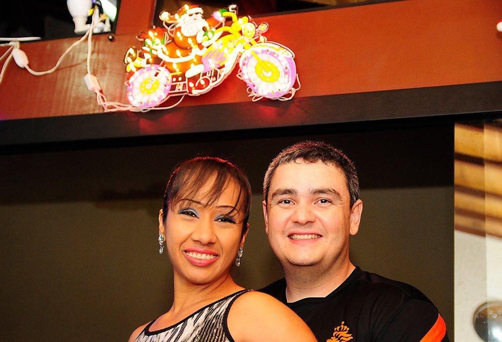 Rodrigo and his Wife Valeria.