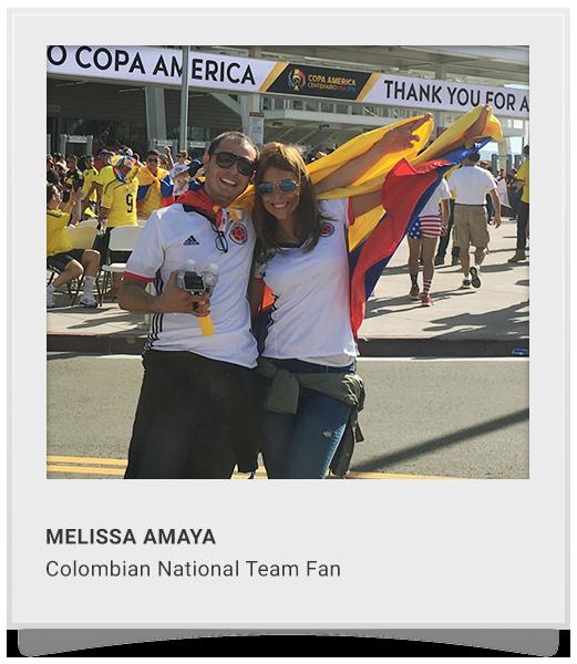 MELISSA AMAYA  Colombian National Team Fan