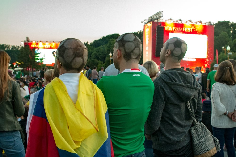 The football head men were an absolute success in Russia.