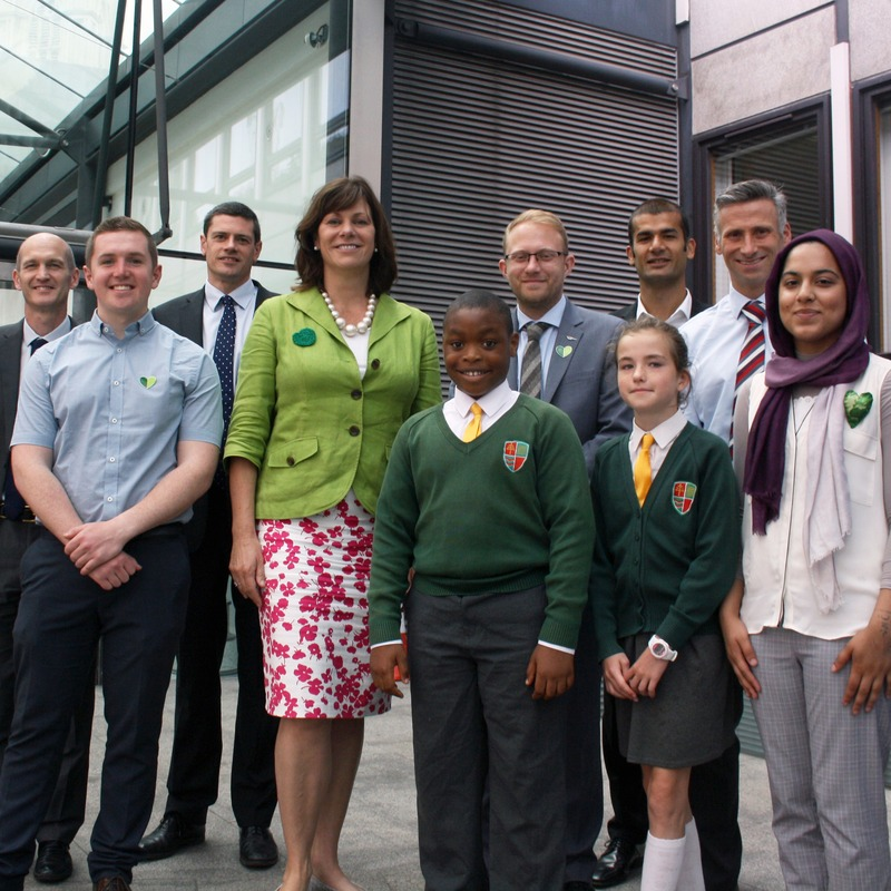 """I'm pleased to support Climate Coalition's week of action as it gives people the chance to make their voices heard and discuss the critical challenge of climate change with their MPs.""    Claire Perry,  Minister for Energy and Clean Growth"