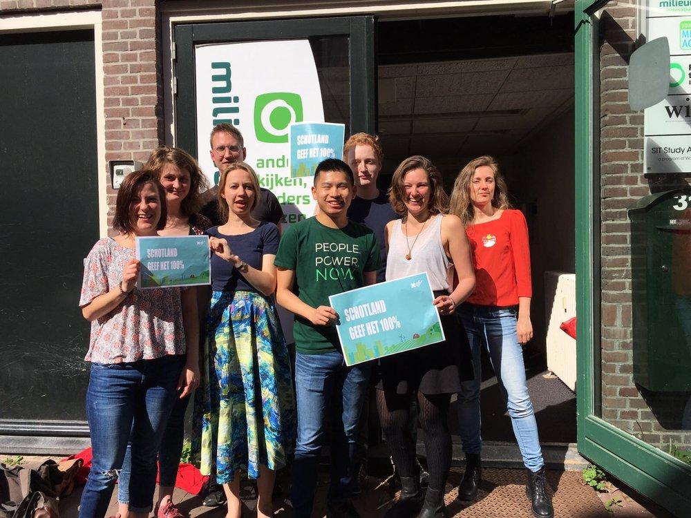 Eefje, Sven, Lynn, Charelle, Joris, Sjoukje, Marieke and Lawrence, The Netherlands