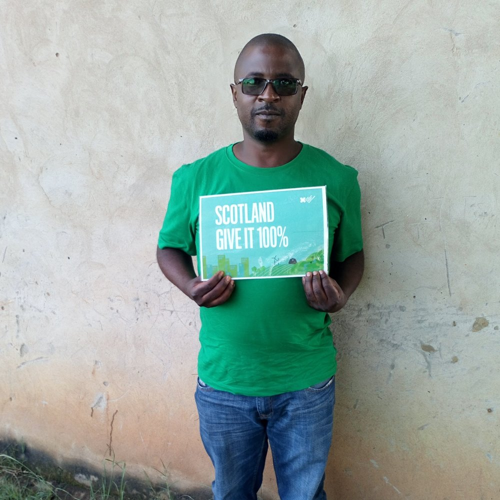 """For the sake of our future generation please reduce on carbon emissions""       Victor Chomba, Zambia"