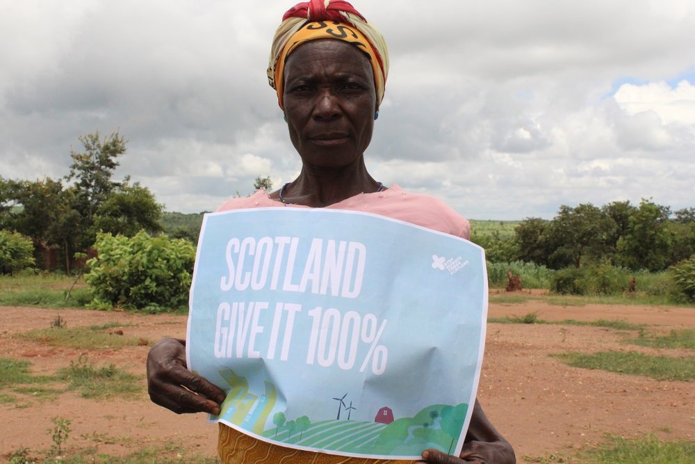 """""""I am afraid because with this type of weather – I don't know what the future holds"""" - Daisi Besam, Malawi"""