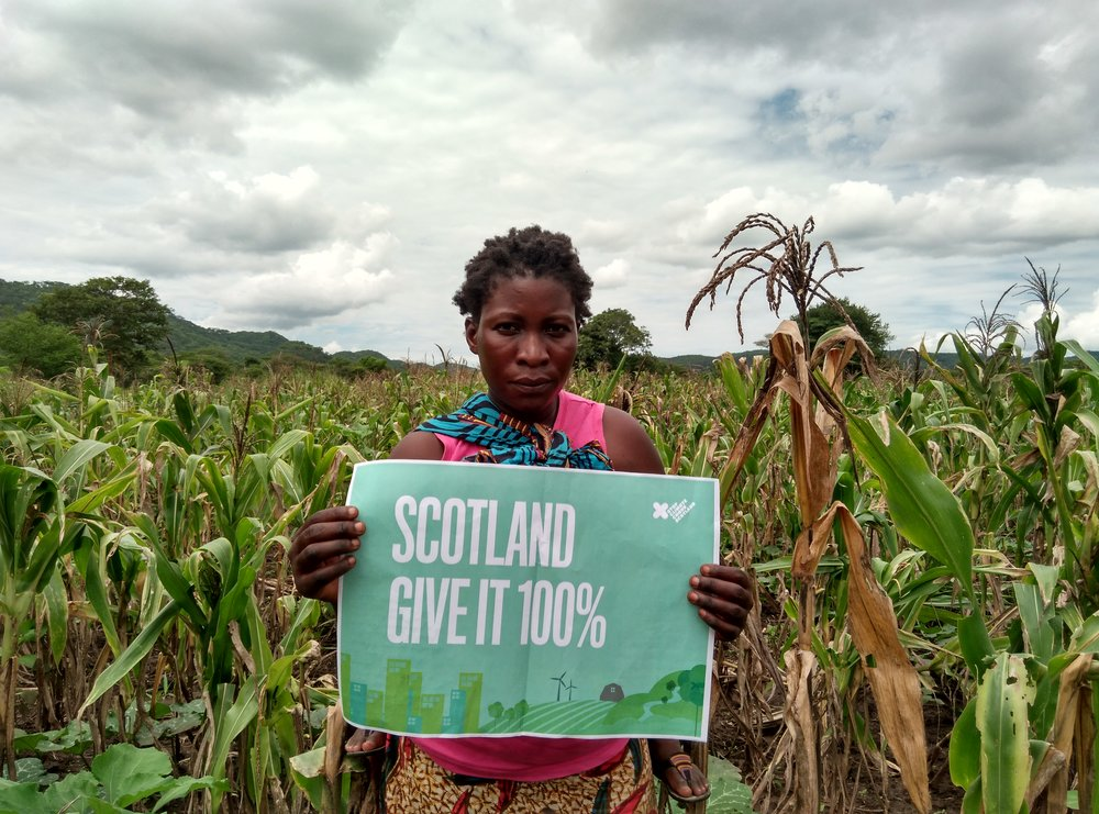 THE CROP FAILURE WILL KILL US. WE DO NOT HAVE ENOUGH FOOD TO SEE US THROUGH TO THE NEXT SEASON.    LYDIA NJOVU, ZAMBIA
