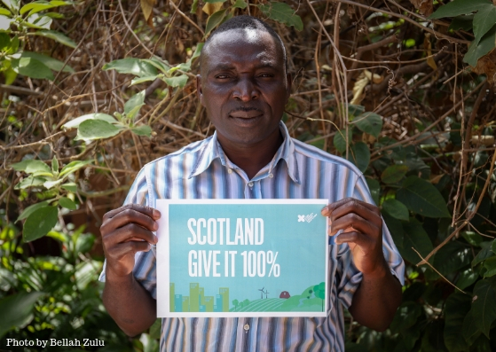 """""""I foresee hunger this year due to the effects of climate change in terms of drought and floods."""" - Mr. Joshua Mwangala, Zambia"""
