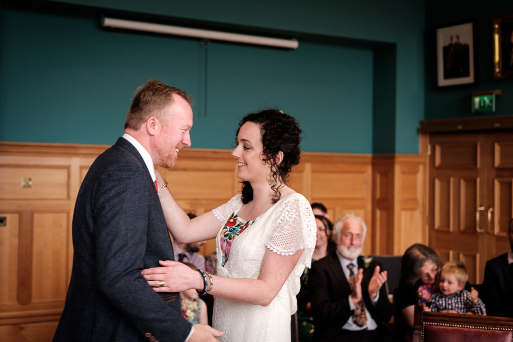 Mel and Michael - The Guildhall, Derry and Moville Farmhouse, Donegal