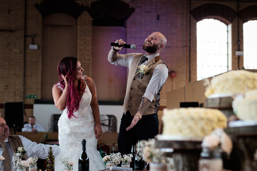 Michelle and Tom - Norton Church and Kelham Island Museum, Sheffield
