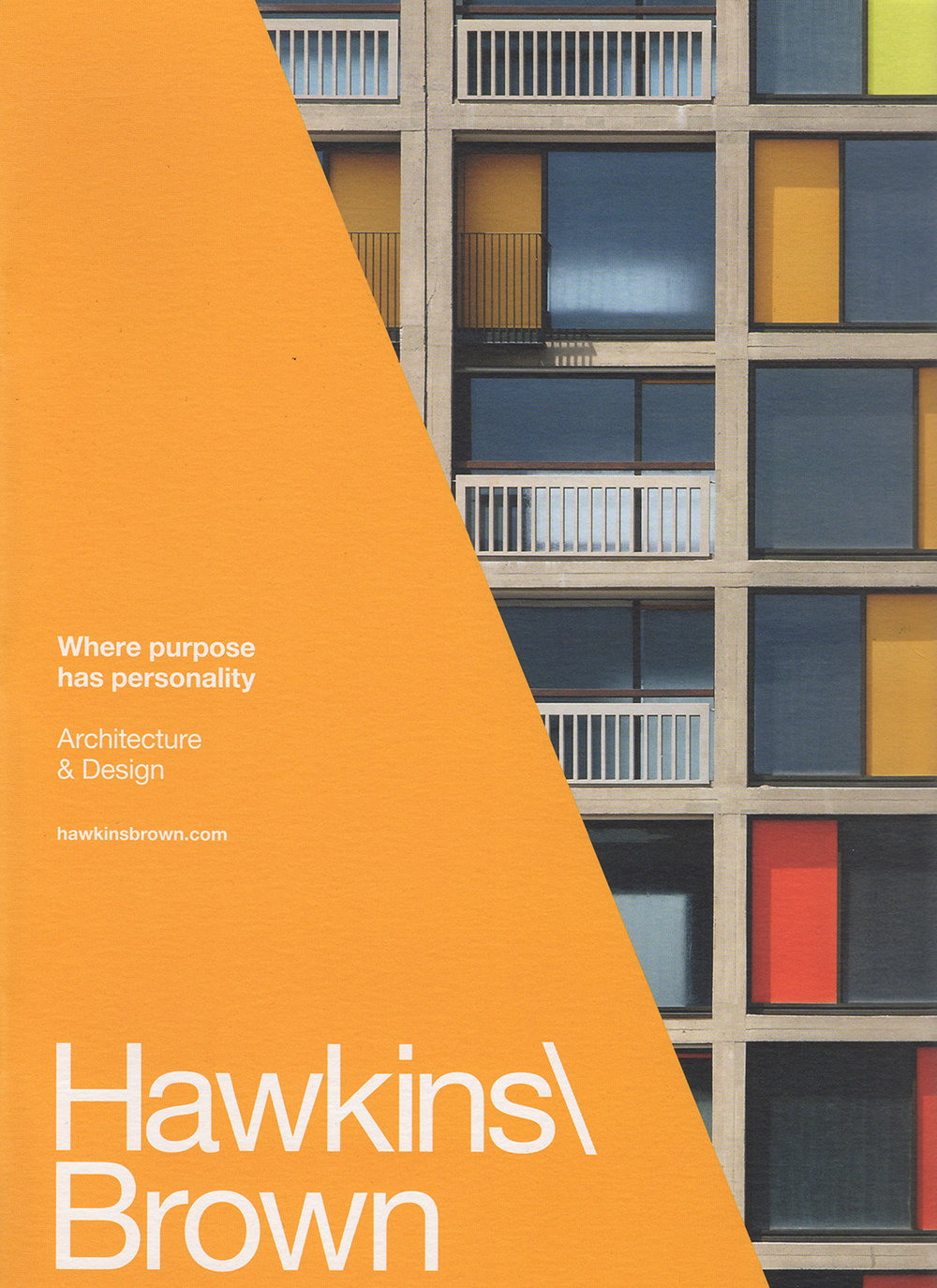 - Hawkins Brown Brochure, 2016Park Hill, Sheffield