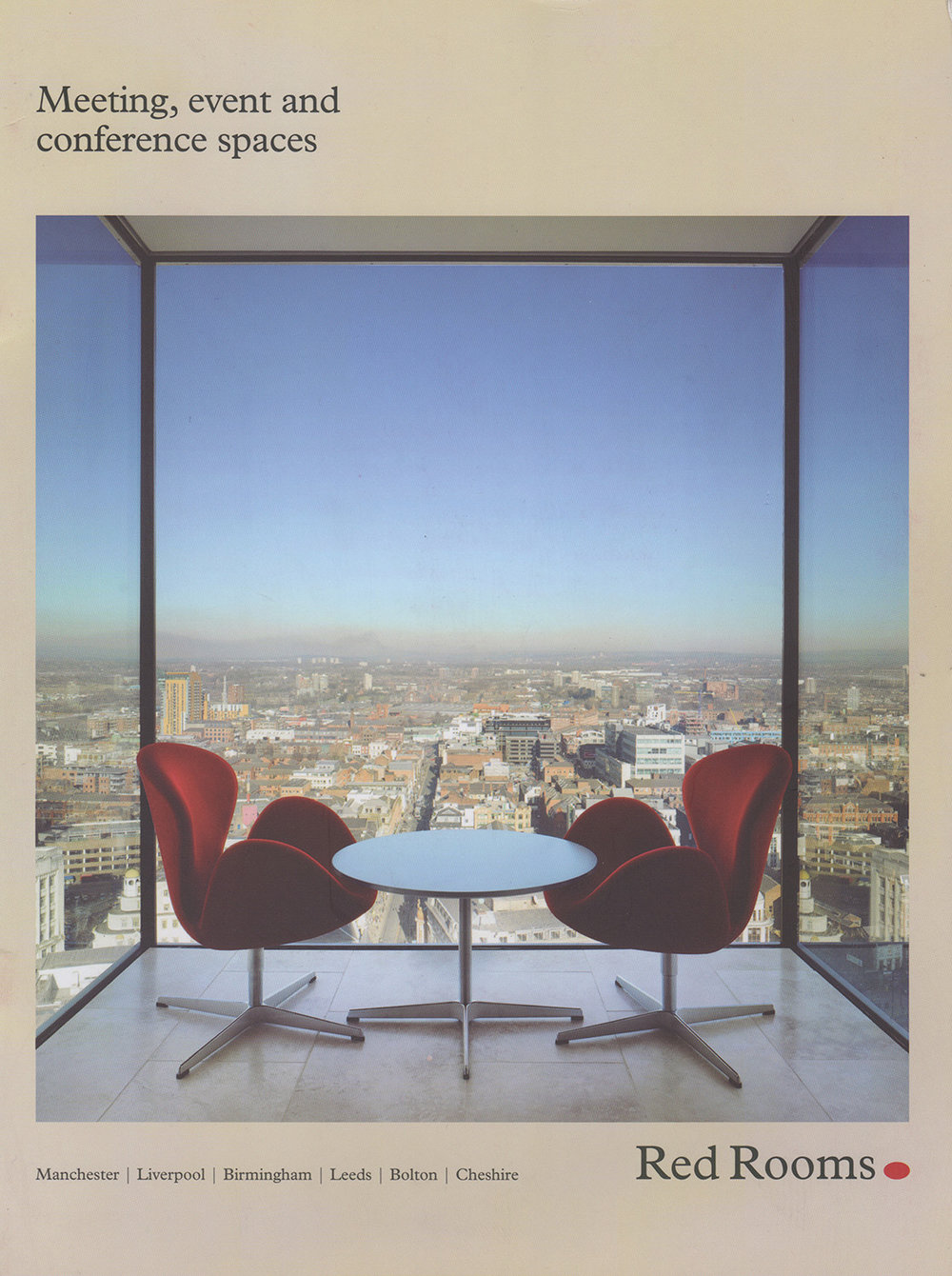 - Bruntwood Red Rooms Brochure, 2014City Tower